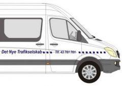 Det Nye Trafikselskab ApS Minibusser – og større busser, de fleste med lift.